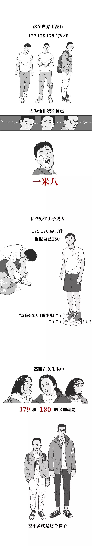 身高170cm的男生也太太太太惨了吧?!!?