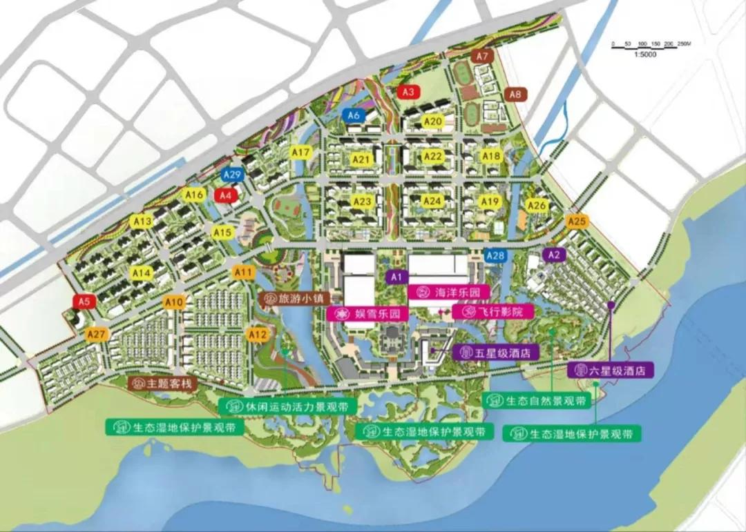 昆明融创文旅城规划图