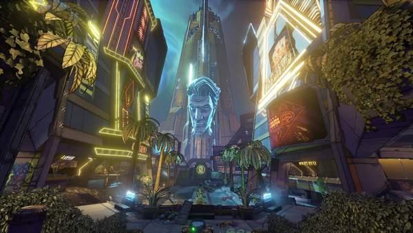 《无主之地3》首部DLC宣传片洗劫太空赌场,12月上线_莫西