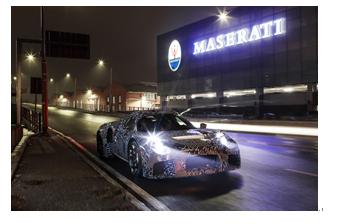 搭载100%自主研发发动机 玛莎拉蒂伪装车现身摩德纳