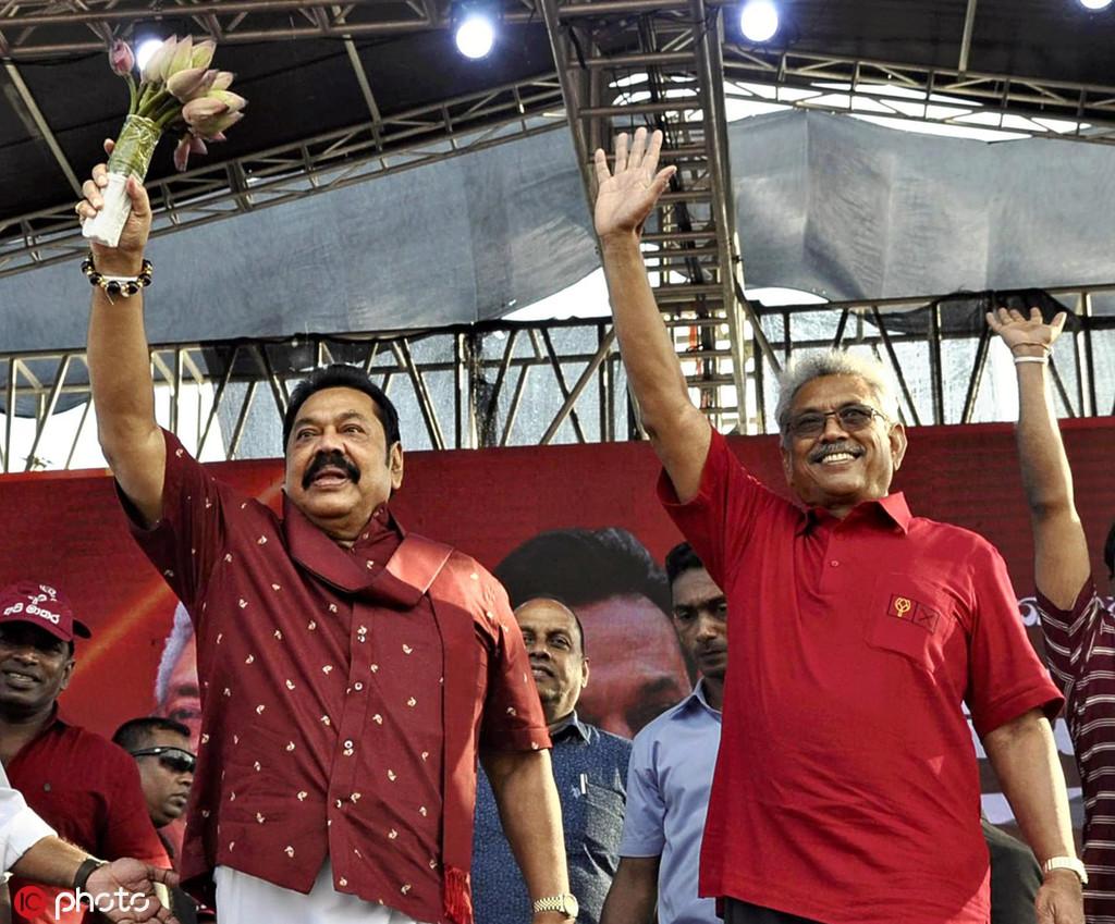 斯里兰卡新总统任命胞兄为总理,外媒大呼亲华政府回归
