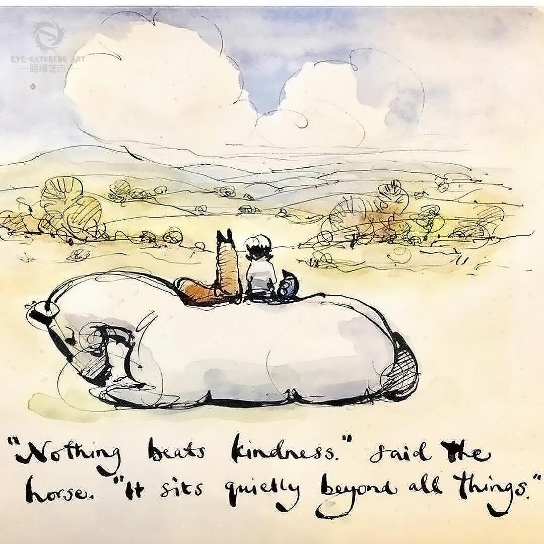 男孩 鼹鼠 狐狸和马 ,一部关于爱与生命的绘本