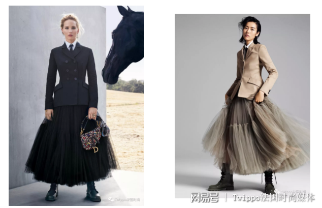平衡保暖和时尚,只需要一条裙装