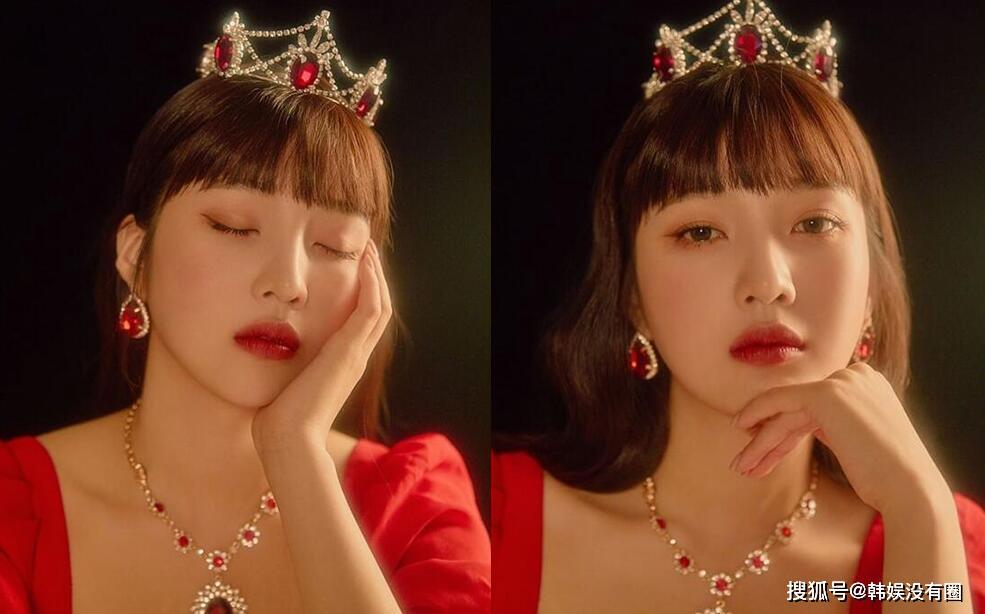 朴致命?!RedVelvet Joy 公开近况,低胸红裙大秀性感身段