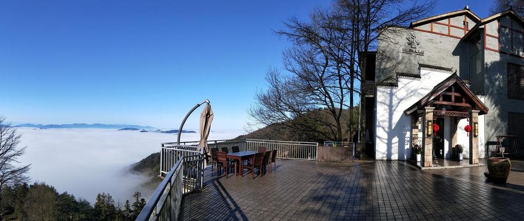 这家莫干山酒店,云海翻腾、雪国胜景、四季都美,不喜欢