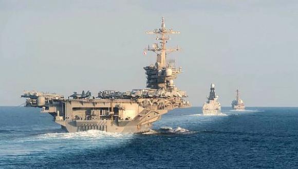 潜伏迅雷下载伊朗击落美国无人机后,美航母战