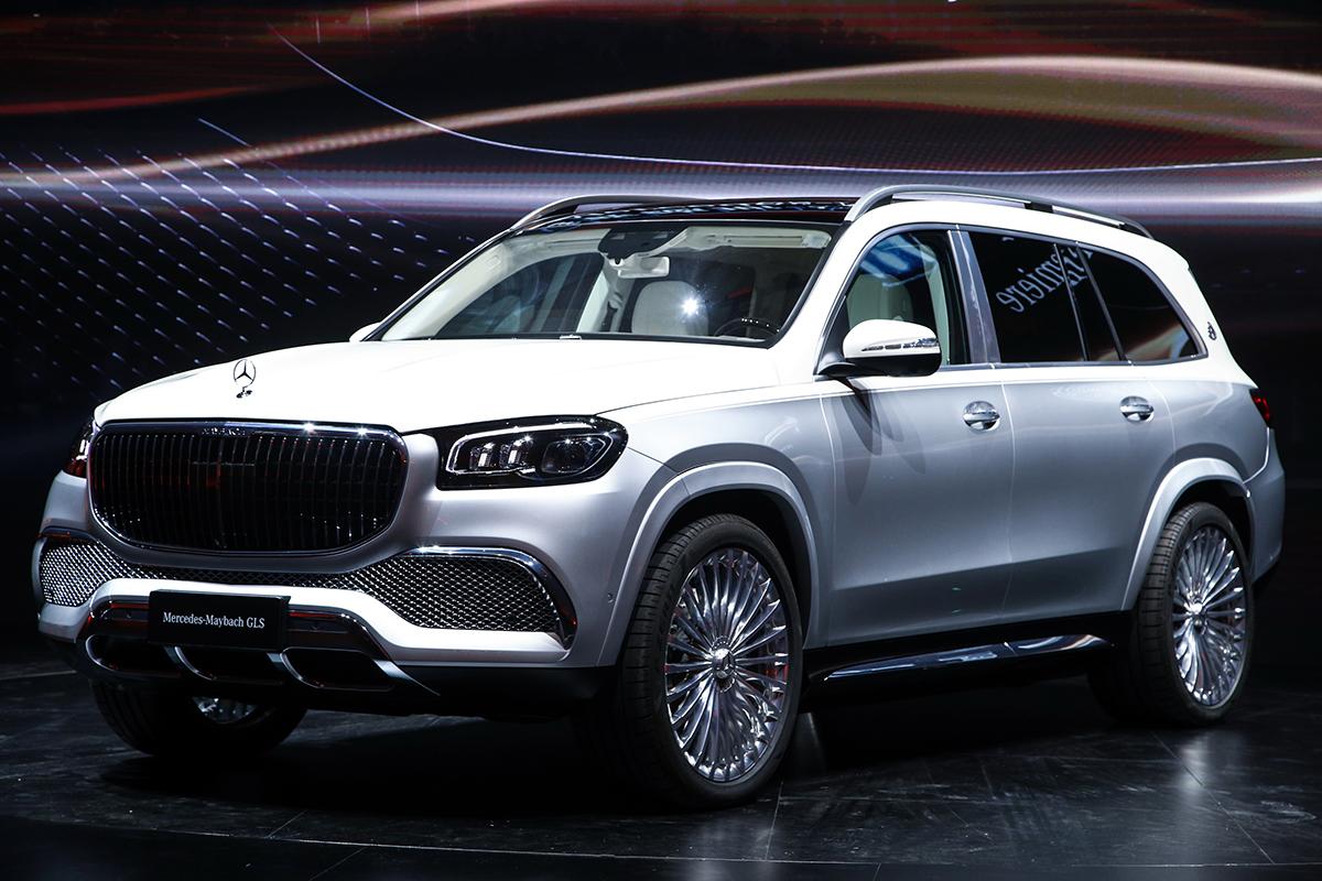 2019广州车展:新款奔驰GLS售价103.80/126.80万元