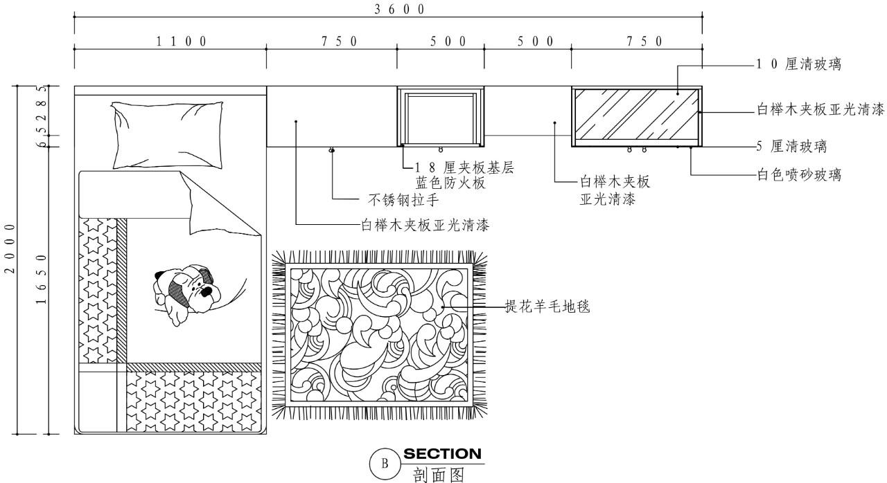 【素材】cad室内大样:这施工图纸原来还剩这么多细节!