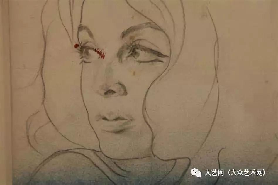 大众艺术网 超现实大师马格里特是她的导师 比利时女演员 画家艾芙琳 阿克谢尔 Evelyne Axell 波普绘画作品