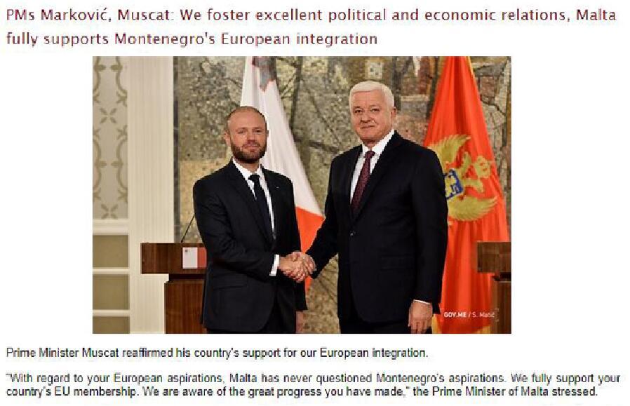 世贸通欧洲移民:又一欧盟国力挺黑山加入欧盟_中欧新闻_欧洲中文网