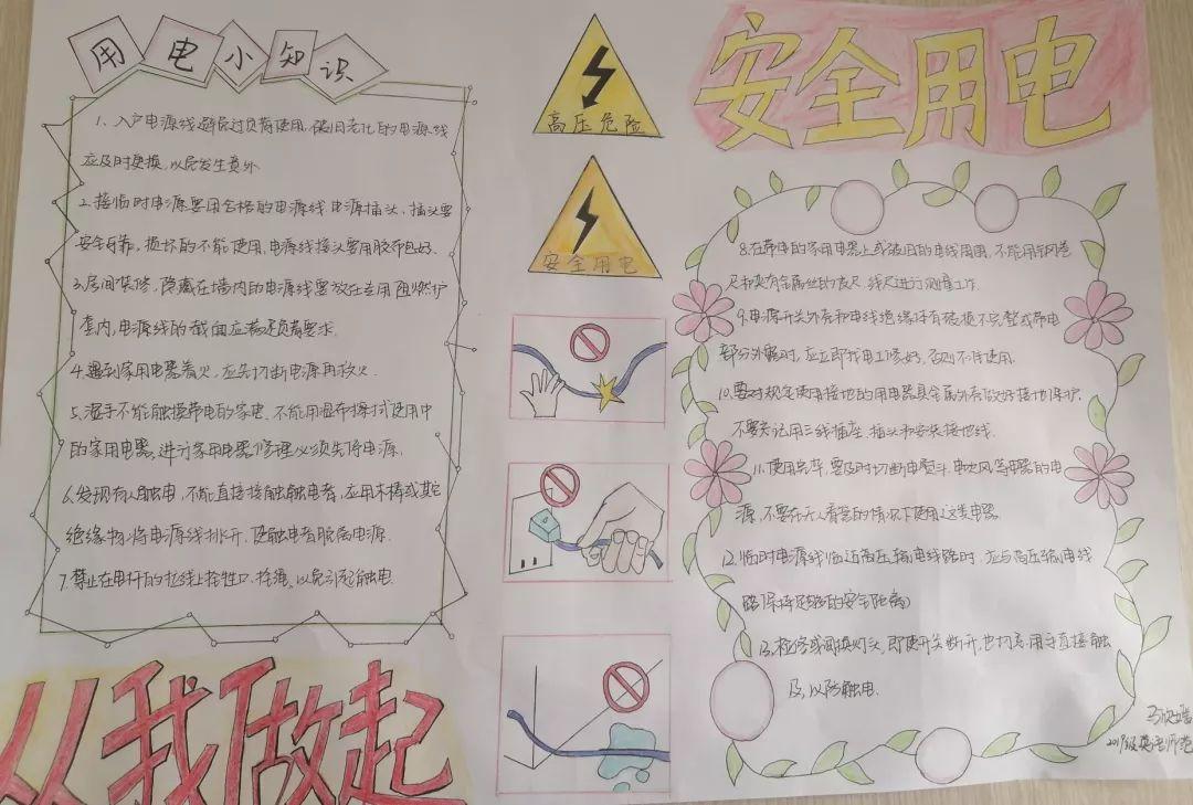 寝室安全-中学生安全手抄报素材 - 5068儿童网