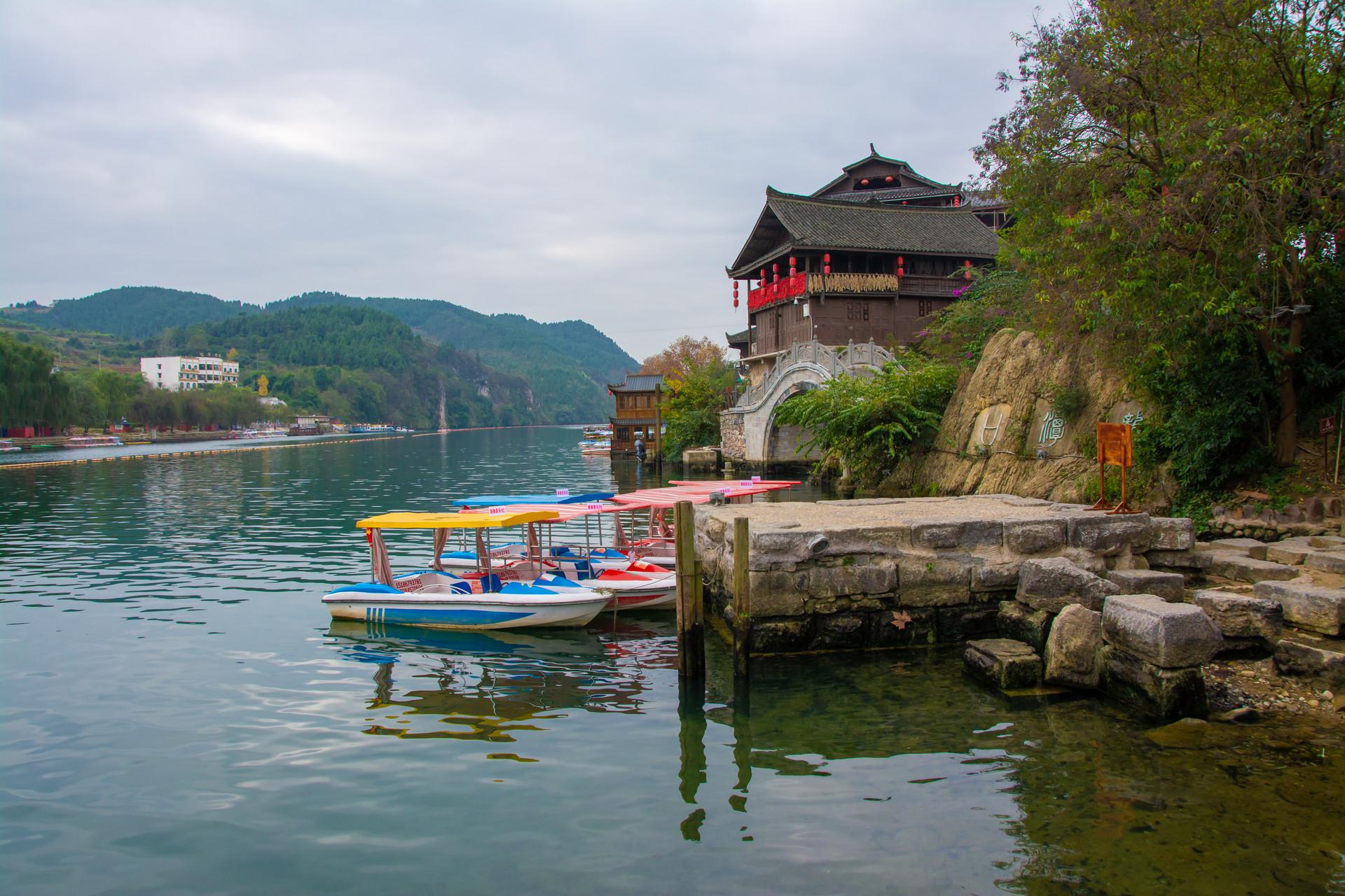 贵州的小上海,百年前商户云集,如今回归平淡发展旅游_古镇