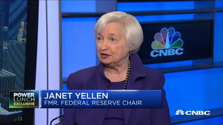打赌美国经济不会衰退,但她忍不住警告:政策空间太少