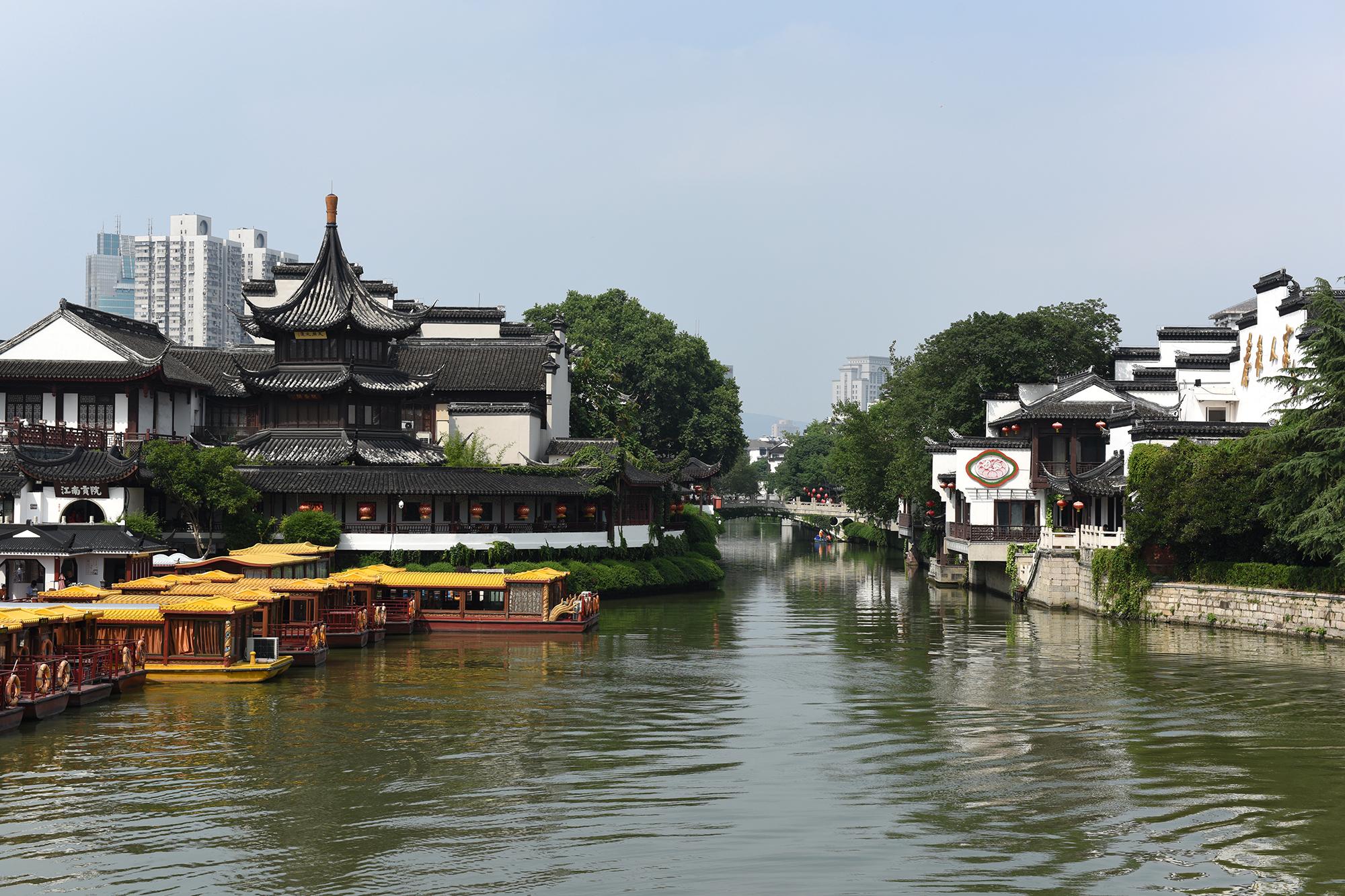 南京旅游景点分布图