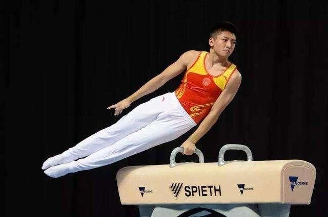 刘洋 摘体操世界杯吊环金牌
