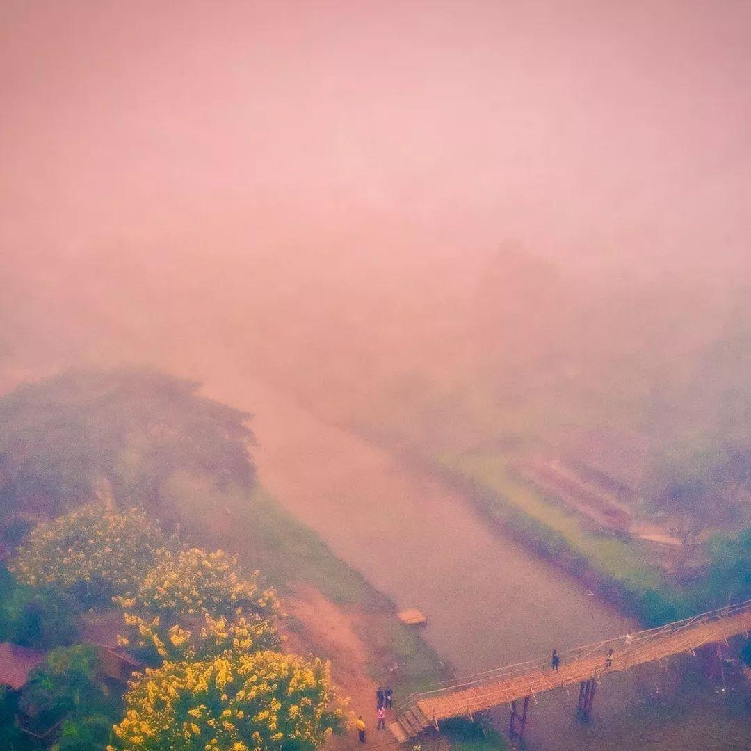 走进泰北之摆镇:绕过762个弯道才能到达的雾都小镇