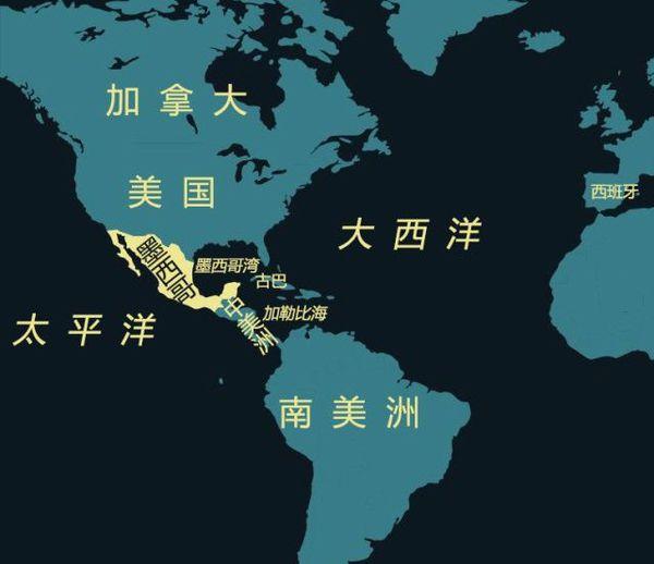 墨西哥gdp_墨西哥地图