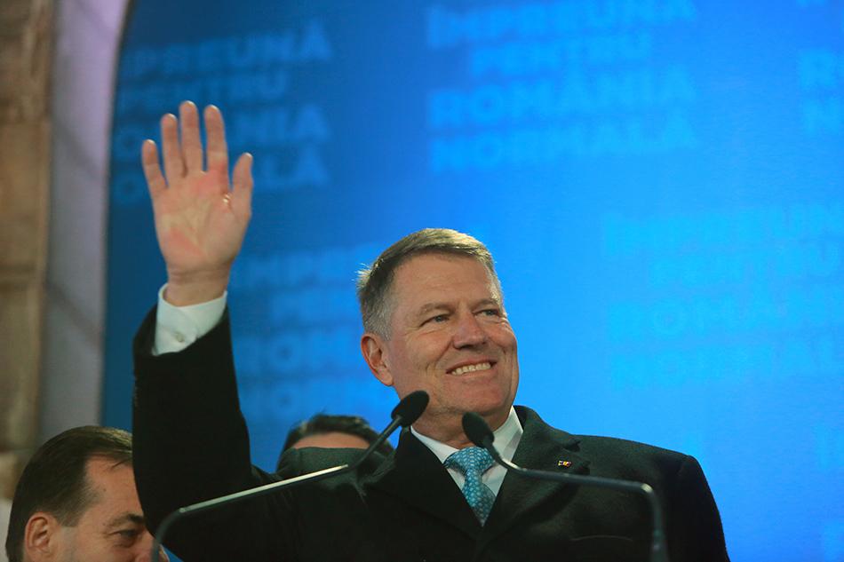罗马尼亚总统选举出口民调:现任总统约翰尼斯成功连任_中欧新闻_欧洲中文网