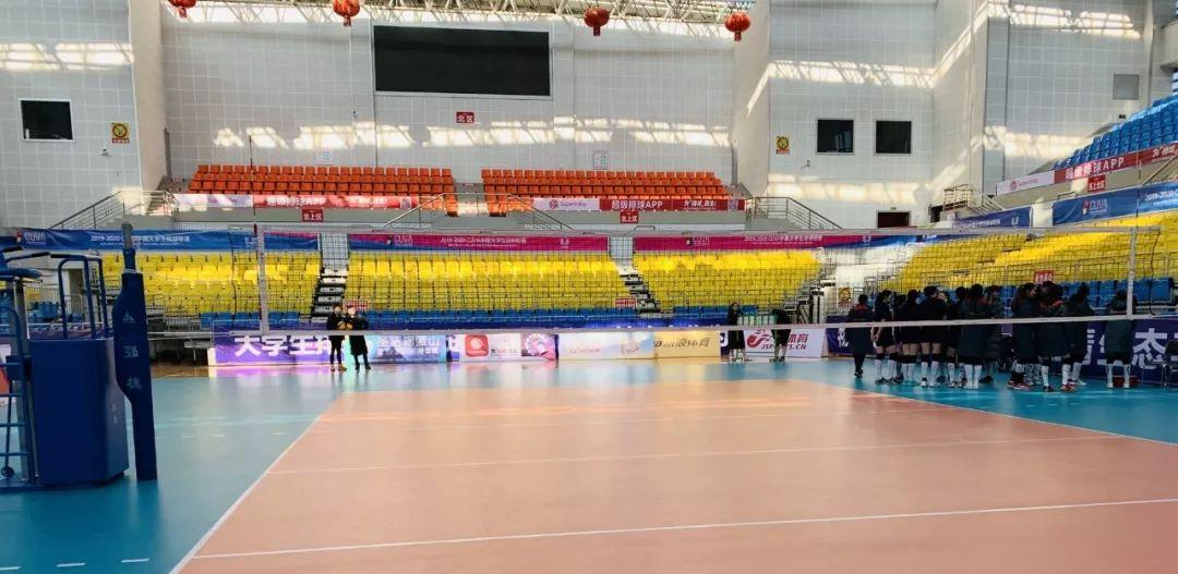 【聚焦中国大学生女子排球赛】赛场布置完毕,全程免费观看!