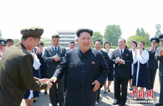 金正恩视察朝鲜西部前线部队