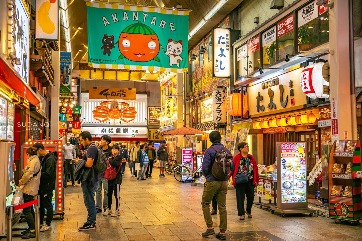 实拍日本美食街:为什么他们能拍出《深夜食堂》?我们却只有模仿