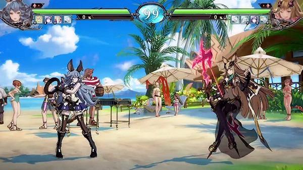《碧蓝幻想VS》奥克斯特岛对战场景实机演示_Lunalu