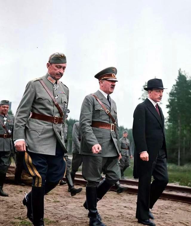二战人物志;芬兰元帅曼纳海姆、西班牙大元帅佛朗哥_希特勒