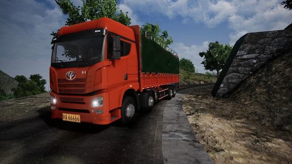 """""""国产卡车模拟""""来了:《卡车人生》上架Steam,体验中国地图"""