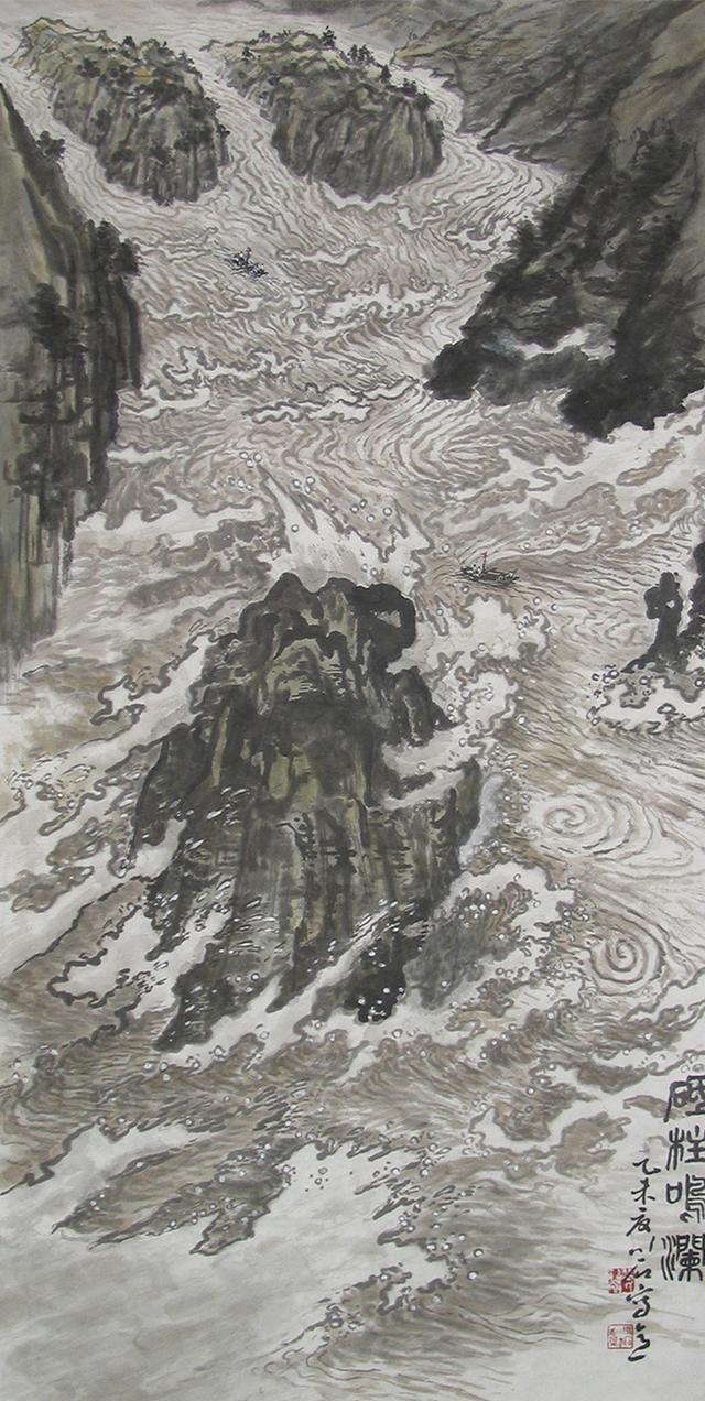 当代书画艺术家裴川石作品欣赏