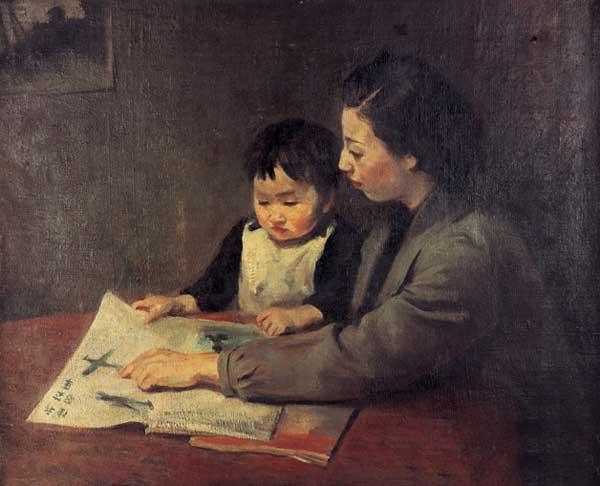 中国著名画家秦宣夫绘画作品赏析