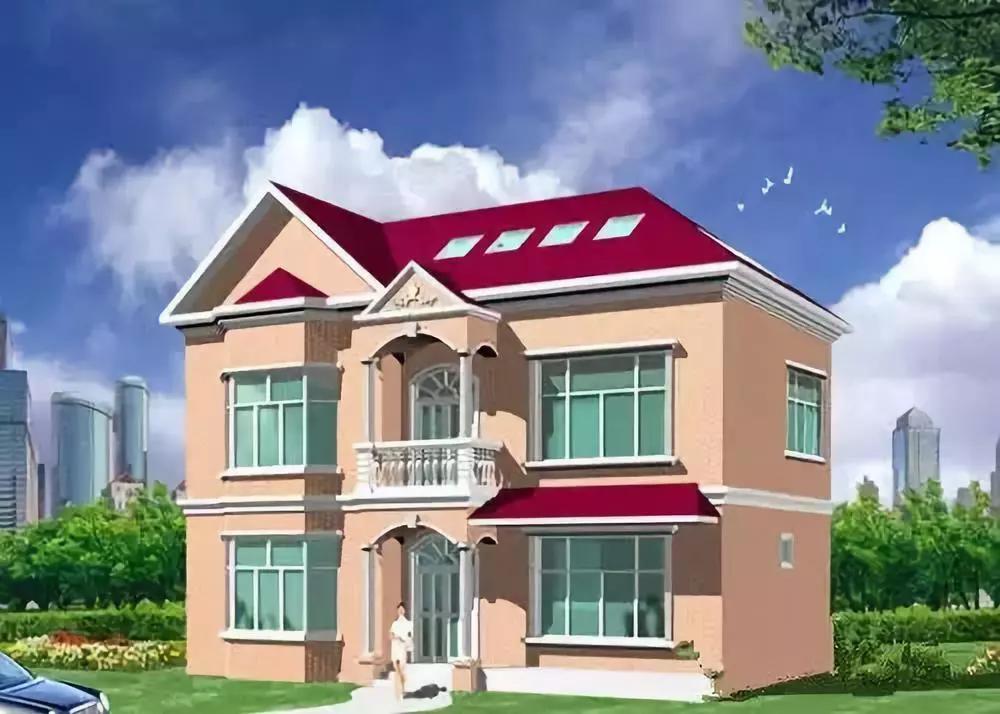 2013流行农村2层房屋设计图赏析