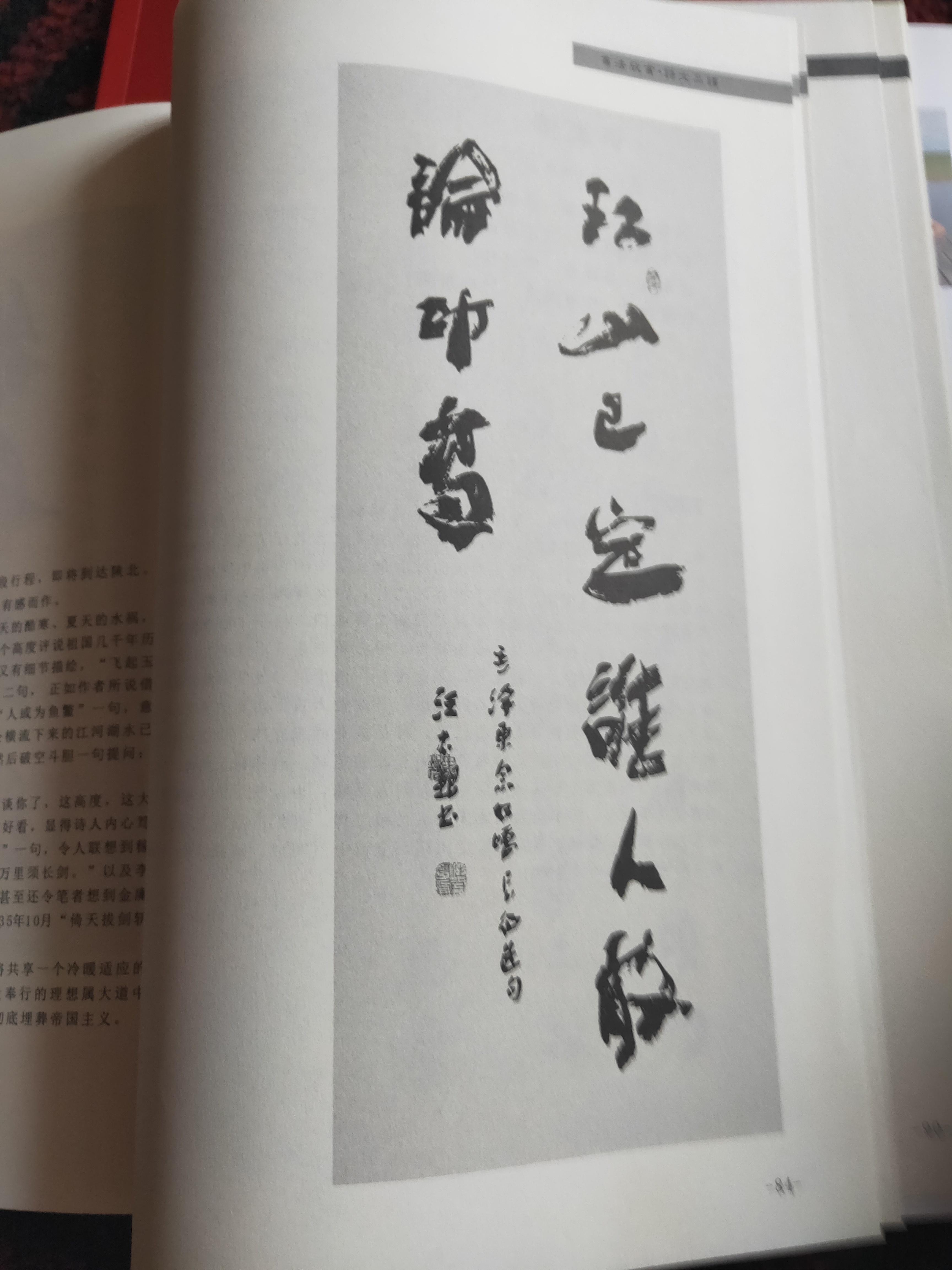 中国汪太银书写《毛泽东诗词》书籍再版发行