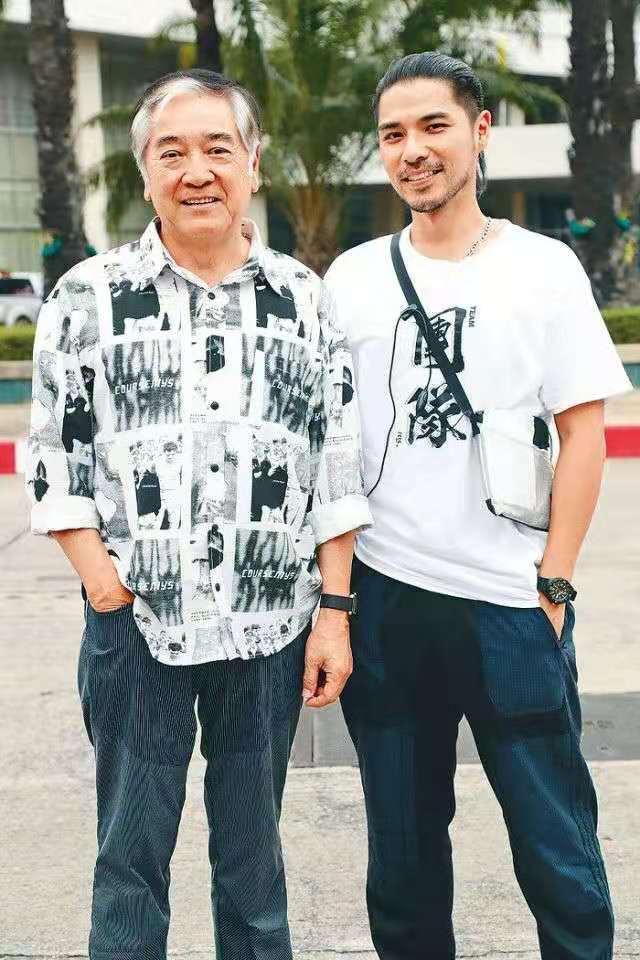 泰國街頭真槍實彈!父子首次合作賀歲片曝父親秦沛是片酬最貴的