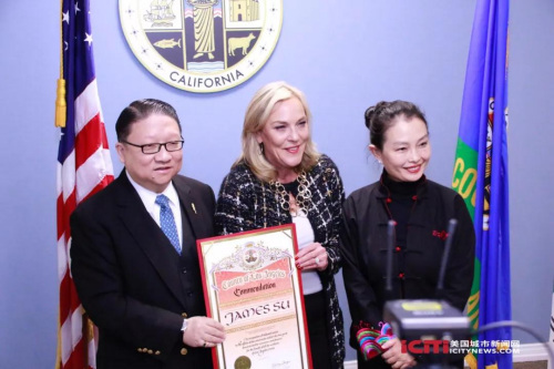 """美洛县政府命名11月为""""中美电影节和中美电视节月"""""""