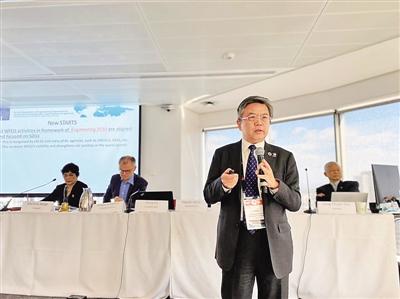 为世界工程界贡献中国智慧和思路——访世界工程组织联合会首任中国籍主席龚克