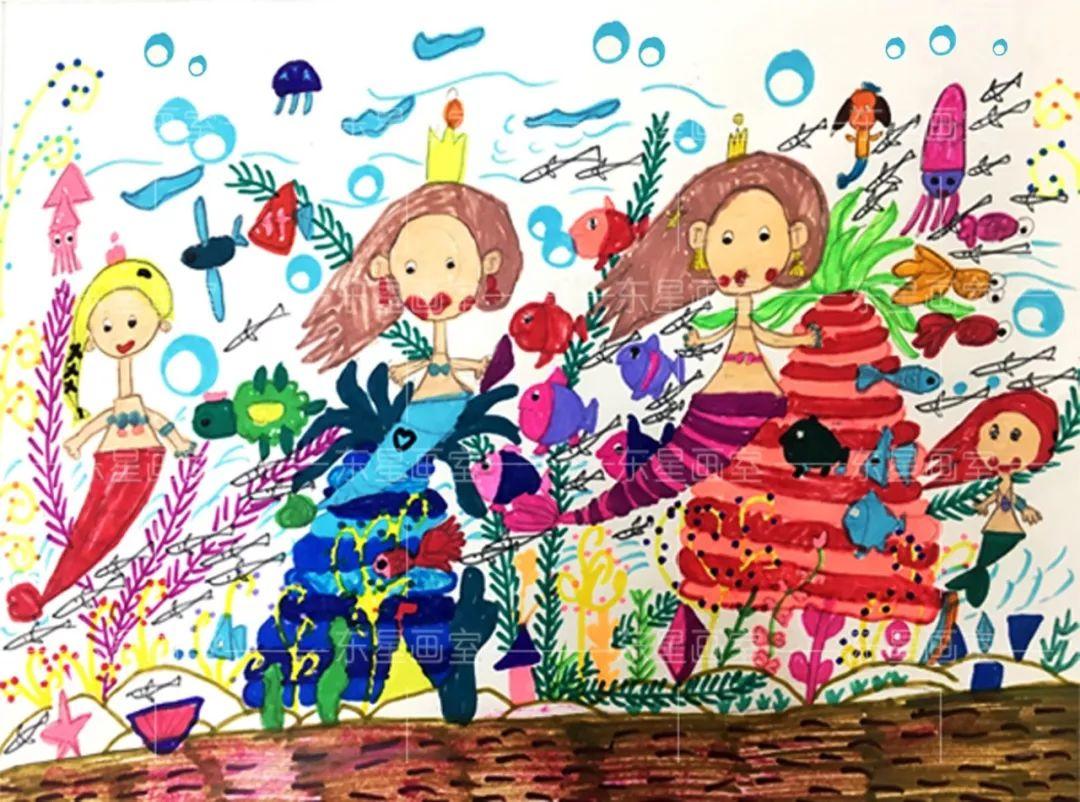 中学生水彩画作品_学习啦在线学习网