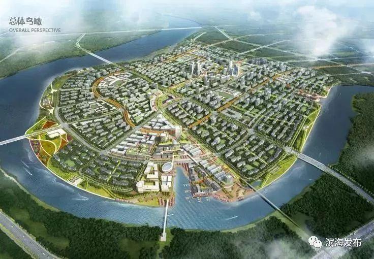 生态城北部片区规划获批 提出 优化路网 效果图