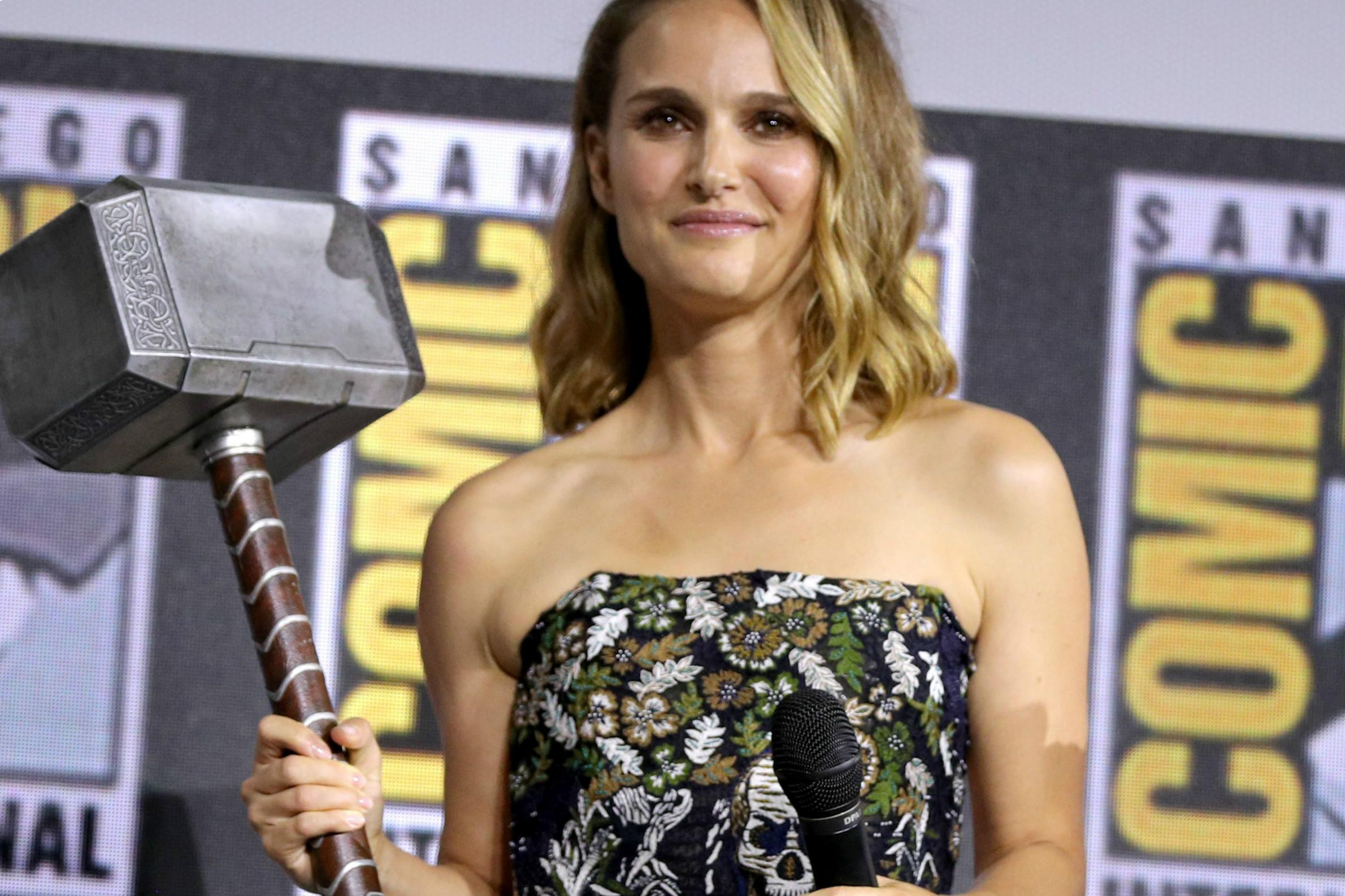《雷神4》2020年开拍,娜塔莉·波特曼将成女雷神_滕朝