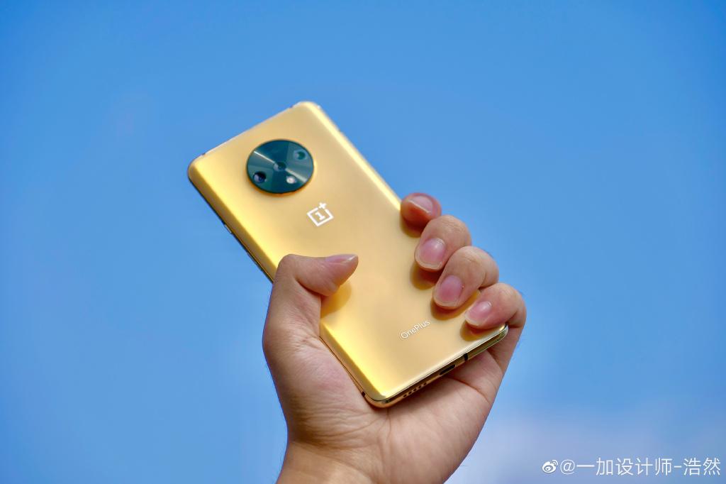 金色一加7T曝光,这是你买不到的手机