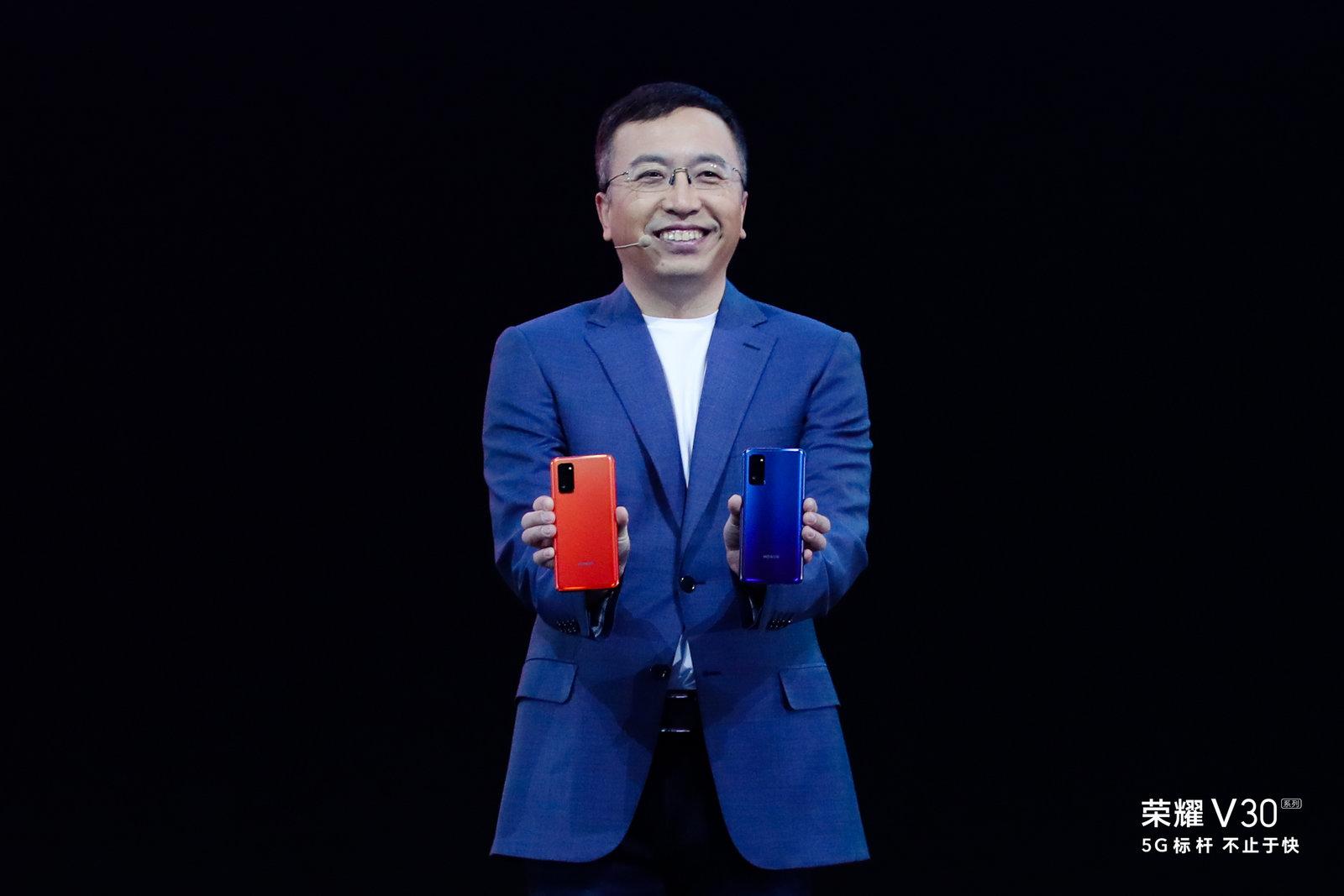 荣耀赵明:荣耀V30旗舰5G soc领先行业一年...