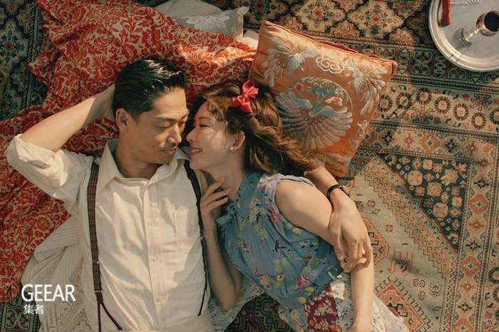 林志玲婚后与丈夫首次共同出演MV:一段穿越时空的唯美爱情_Akira