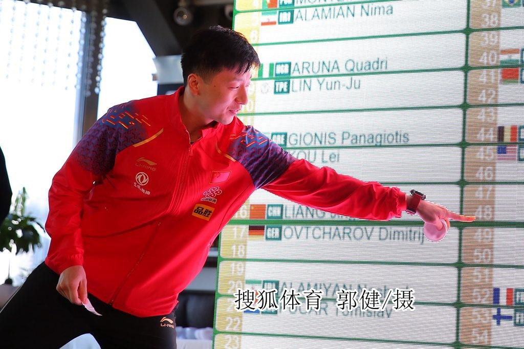 马龙樊振东征战男乒世界杯