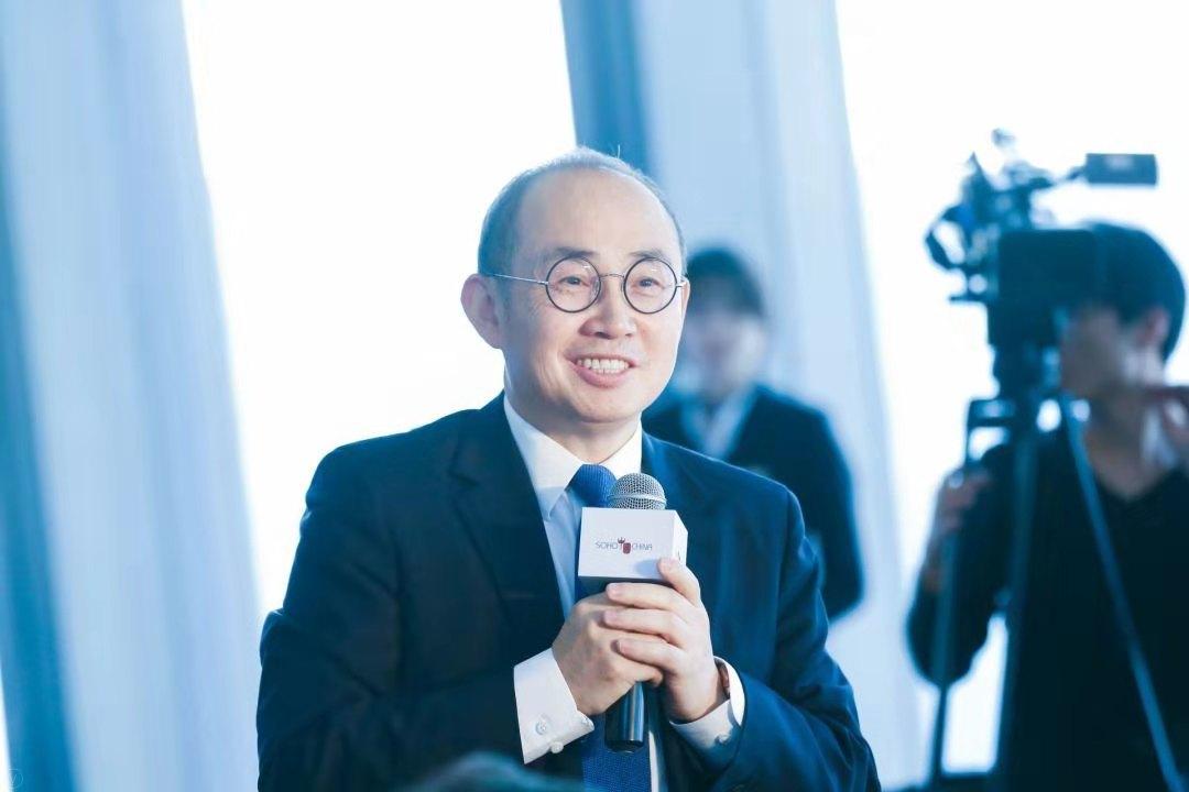 麗澤SOHO舉行首批客戶簽約 潘石屹:說我跑路是謠言
