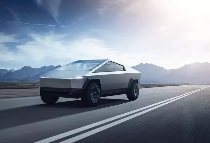 是未来还是概念?特斯拉赛博卡车出来搞笑
