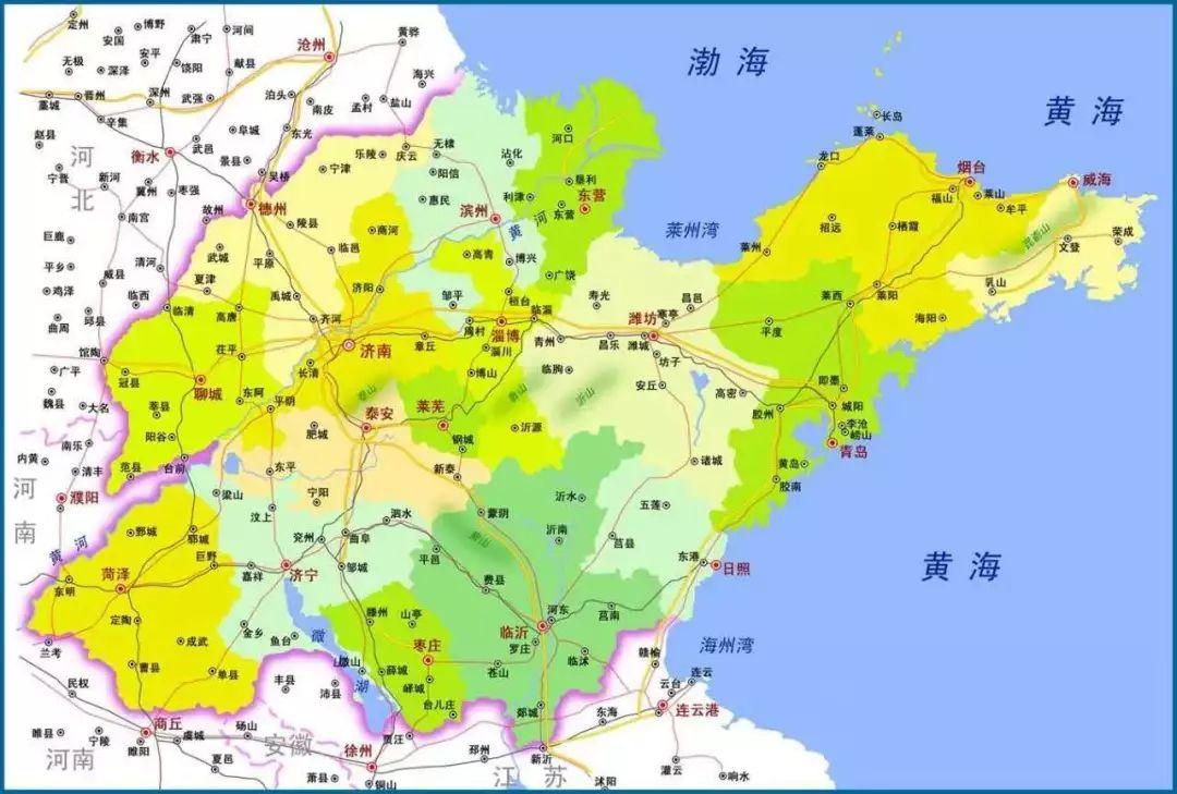 清代襄陵县地图