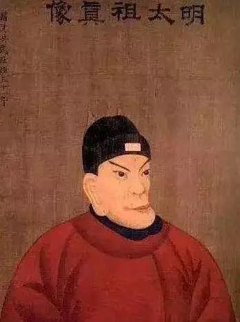 朱元璋画像.