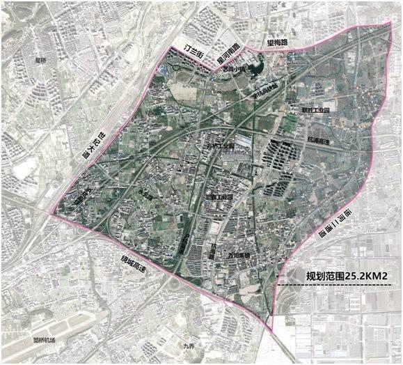 2019余杭翁梅规划图