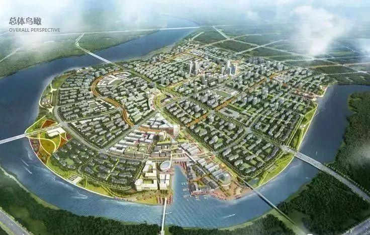 生态城北部片区规划图