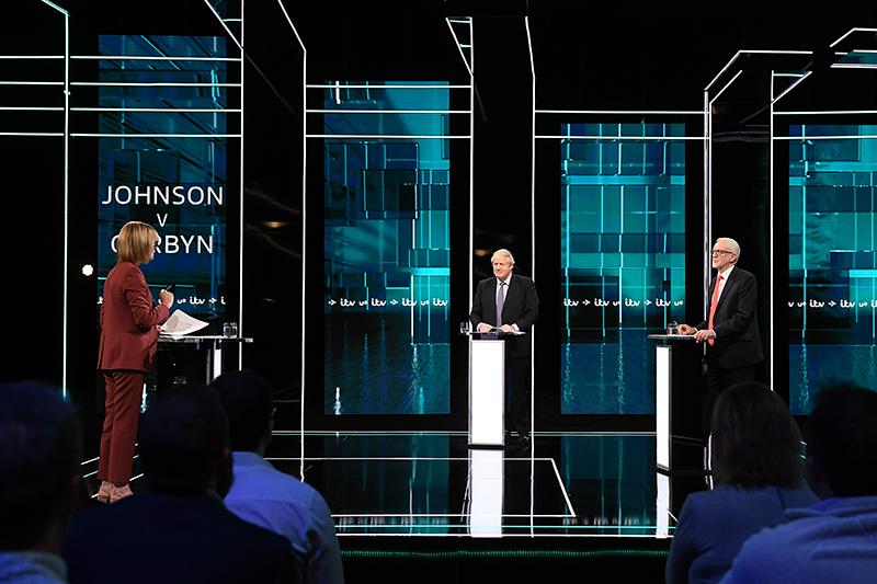 英國大選焦點轉向國內議題,科爾賓:約翰遜要賣NHS給美國