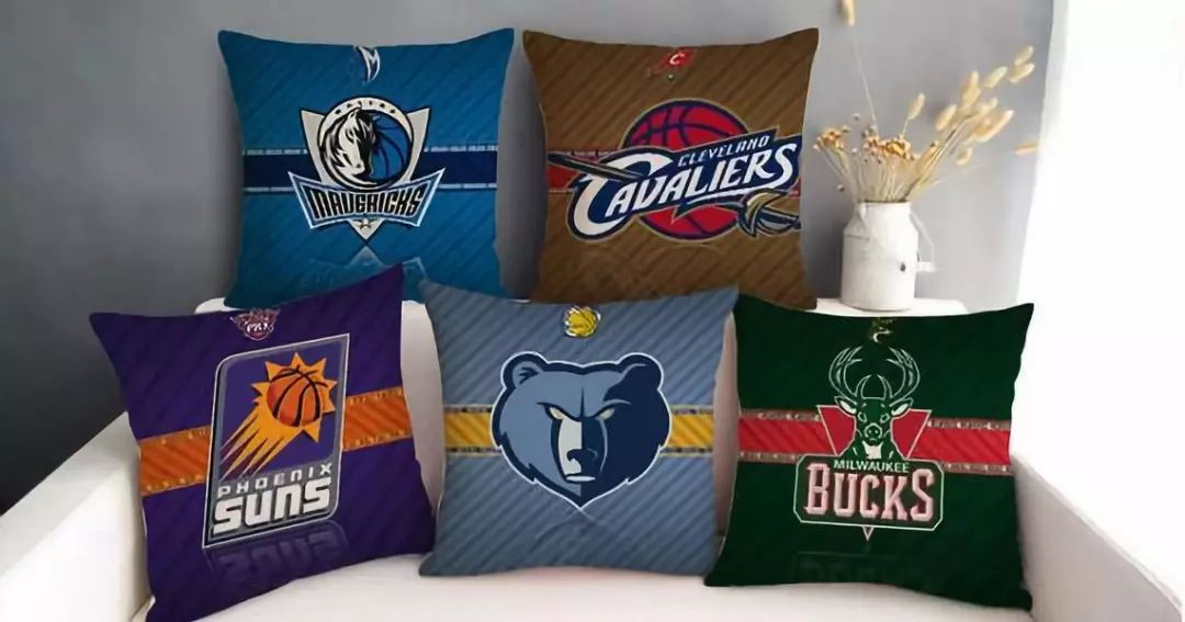 NBA球队抱枕